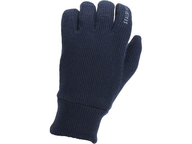 Sealskinz Windproof All Weather Knitted Gloves dark navy